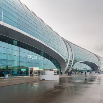 Domodedovo Airport, Moscow, Russia