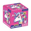 Unicorn 24 Piece Shaped Mini Puzzle