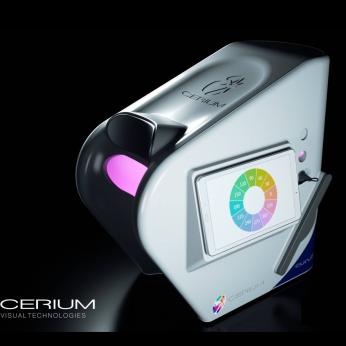 Cerium Colorimeter Curve