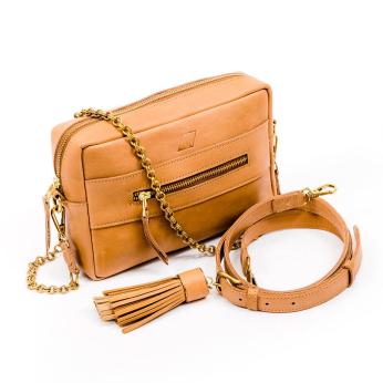 Essential Crossbody Bag, Tan