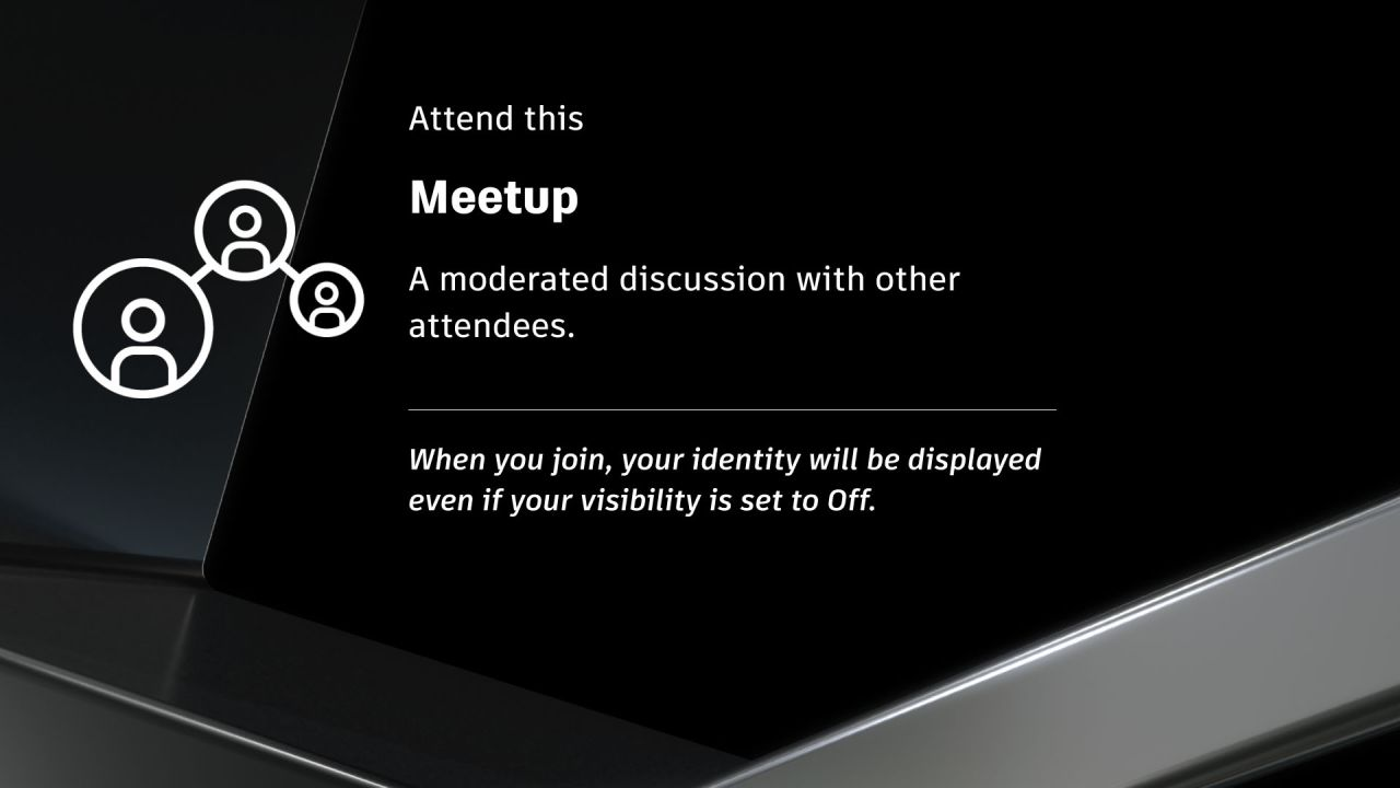 The Shift to Hybrid User Groups and Meetups (524045)
