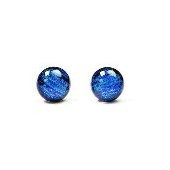 Dichroic Stud Earrings