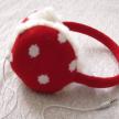 Polka Dot Headphone Earmuff (3 Colors)