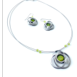 18.Handmade Jewelry - WIRE NECKLACES 17'' & EARRING SETS (FY)