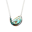 Spoon Full of Turquoise Necklace