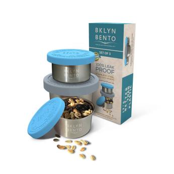 3 Piece Condiment Set (Leakproof Little Buddies For Your Bentos)