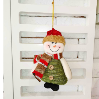 Snowman Holiday Hanging Ornament