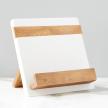 White Mod iPad / Cookbook Holder