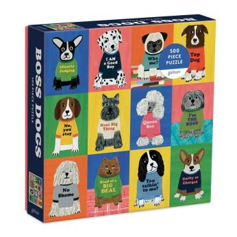 Boss Dogs 500 Piece Family Puzzle