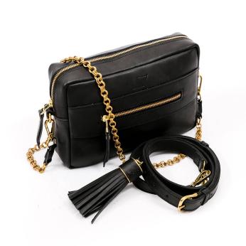 Essential Crossbody Bag, Black