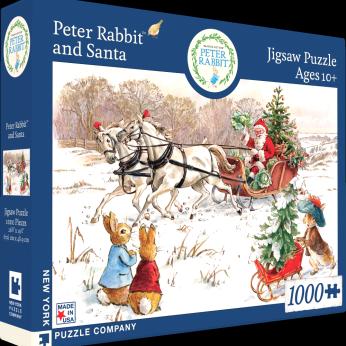 Peter Rabbit and Santa