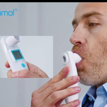 Electronic peak flow meter,digital peak flow meter,incentive spirometer