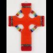 Celtic Rainbow Glass Cross