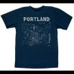 Portland Adult Tee Navy