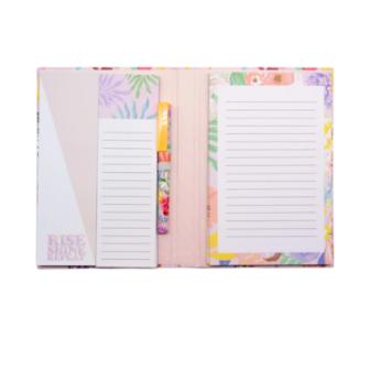 Tropical Florals Notepad & Pen