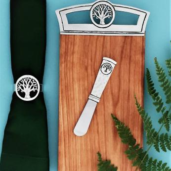 Tree of Life Mini Board & pate knife
