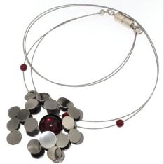 01.Handmade Jewelry - WIRE NECKLACES 17'' (F)