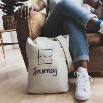 Journey Tote Bag - Natural