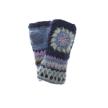 Crochet Hand Warmer - Navy