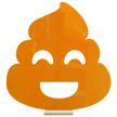 Poop Emoji   Tabletop Centerpiece   Shelf Decor