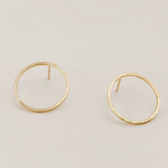 Black Moon Earrings