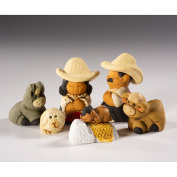 Characato Nativity Set - Petite