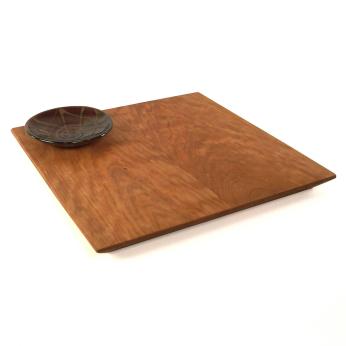 Square Bread Board & Dip Bowl