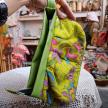 Batik wrislet pouch
