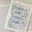 "Margaret Fuller ""Today a reader..."" Greeting Card"