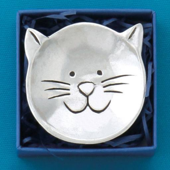 Cat sm Charm Bowl