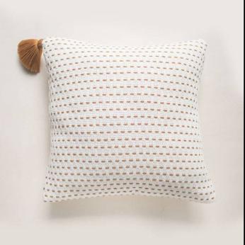 Handwoven Point Pillow