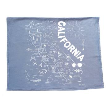California Tea Towel
