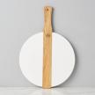 White Round Italian Charcuterie Board, Small