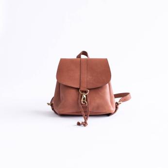 Mini Adelaide Backpack, Chestnut