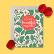 To My Beautiful Mama Mother's Day Card