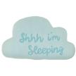 Shhh Im sleeping pillow - baby nursery - nursery decor - 100% Combed cotton baby gifts