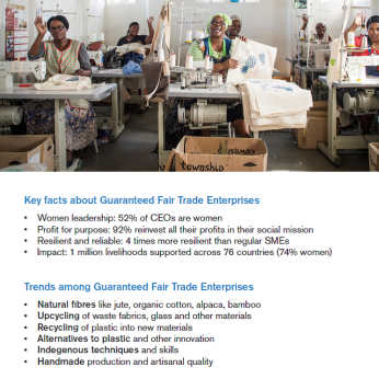 WFTO Guaranteed Fair Trade | Pamphlet