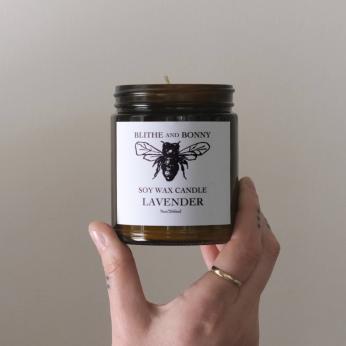 Amber Jar Candle