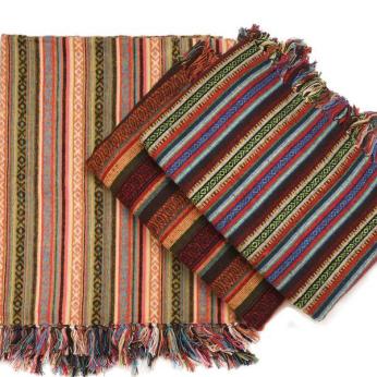Brushed Cotton Gheri Blanket