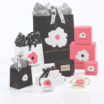 Branded Packaging Collection - Painted Rose