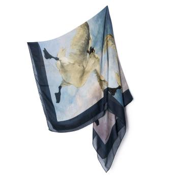 Threatened Swan scarf