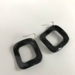 Up-Cycled LG Thermal Irregular Square Horn Earrings