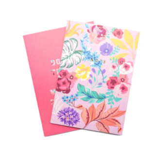 Tropical Florals Softcover Notebooks