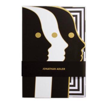 Jonathan Adler Atlas A5 Die-cut Notebook