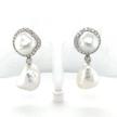 Double Baroque Pearl Earring