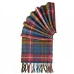 Prince of Scots Merino Lambswool Tartan Scarf (Antique Buchanan)