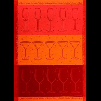 Mierco Cheers Jacquard Tea Towel
