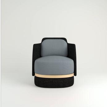 SWIVEL ARMCHAIR - ONIX COLLECTION