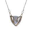 Blue Quartz Corset Necklace