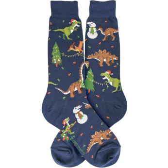 Tree-Rex Holiday Dinosaurs / Men's Socks